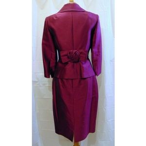 Kay Unger occasion church skirt suit Sz 2